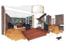 Architecte extension maison Brest / Architecte d'intérieur pour la construction d'une extension pour une maison individuelle au tour de #Brestvpar Ad Hoc Concept Architecture