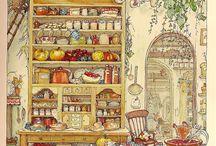 Jill Barklem Illustrations