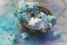 Malowane kwiaty / Kwiaty w każdej odsłonie