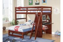 LOFT BEDS / Our Loft Beds for Kids are the perfect space-saving solution for a stylish kids' bedroom. For boys, girls, or teenagers, Mom's Bunk House carries loft beds that can suit the needs of any family.