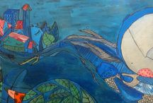 Ilustraciones lunas / Illustration moons