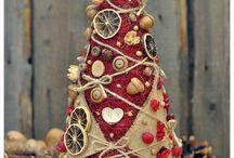 Karácsony, Christmas / Ünnep, dekoráció, várakozás