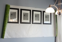 ALL THINGS: Frames/Wall Art / If walls could talk, they'd want to look like these...