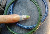 Acrylic nail / Nail art