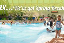 Spring Break / Relax... We've got Spring Break Covered / by Wilderness Wisconsin Dells