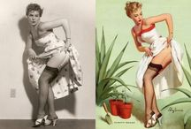 Pin-up Before and Afters / by The Portrait Photography Group