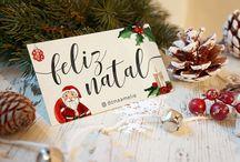 Natal e freebies /  Convites, papelaria e identidades criados pela Dona Amélie Todos os direitos reservados. www.donaamelie.com