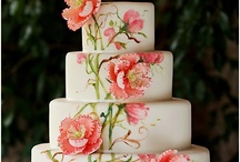 Hand Painted Cakes / A beautiful collection of cakes decorated with hand painting.