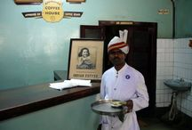 India Coffee House / The co-operative Coffee chain, where the coffee is served strong, watery and in leisure...