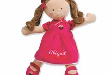Personalized Dolls / Too cute! A gift that makes the receiver think you really care.