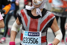Running Costumes / Remarkable and sometimes funny Marathon Running Costumes and Mascots #MarathonCostume #MarathonMascot #RunningCostume