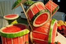 frutas y frutas decorativas