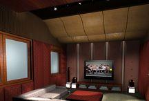 Thiết kế phòng karaoke tại nhà.