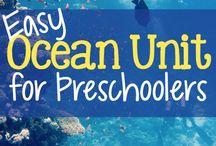 Preschool Ocean unit