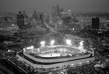 Ballparks! / Baseball stadiums, past and present.  Places that hold fond memories of baseball for all of us.   / by Mattingly Sports