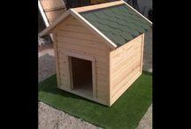Köpek Kulübesi---- Wooden Kennel