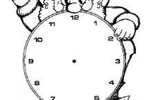 μαθαίνω την ώρα / ρολόι