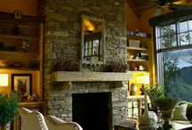 fireplaces / by Buff Tracy