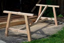 homemade outdoor furniture