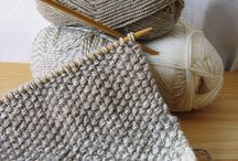 knitting and crochet / by Jenny Young