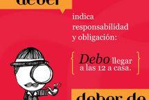 Spanish Grammar´s tips / by APC Spanish Schools Granada Nicaragua