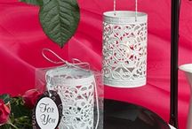 Lanterns - Tabble Decorations / Wedding lanterns are a great way to add a warm atmosphere to your wedding decoration.