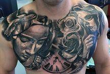 chest tatto