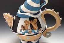 Whimsical Tea Pots