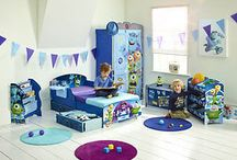 Monsters Bedroom for Little Miss / Monsters Inc themed bedroom ideas for Little Miss