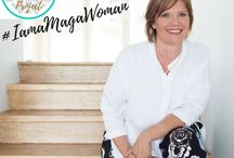 The Maga Woman Project - Celebrating Women in their mid stage of life / Empowering women in the mid stage of their life.  Creating a community of strong and confident women who are ready to change the world.