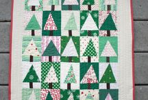 wonky christmas tree quilt-easy