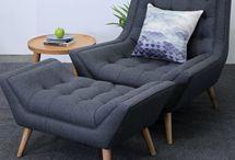 armchair & chairs & berjer