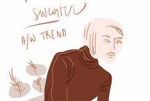 Trends and Moods by Open Toe Illustration / Fashion trends and catching eye styles