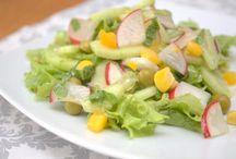 Surówki i sałatki - wegańskie przepisy