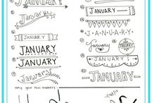 Bullet journal ideas