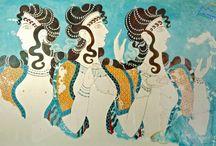Arta Mediteraneana / Artele antice minoica, miceniana, greaca