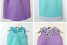 free girls blouse pattern + tutorial