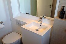 Ideer til små badeværelser