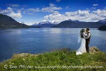 Alaska Destination Weddings / Great Alaska destinations for weddings of all kinds, from private elopements to grand events.