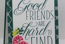 Stampin' Up! Lovely Friends