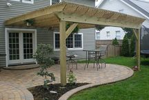 Pergola Back Yard Deck