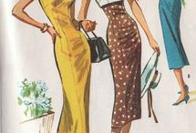 Vintage summer dress patterns