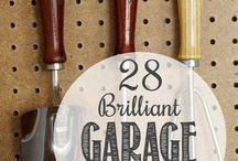 garage organization / by Lissa Bitton