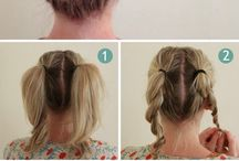 Mid Length Hair Up Easy