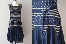 My Love of Navy 1920s Dresses