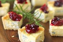 Savoury cheese cakes