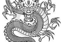 chinese dragon tattoo