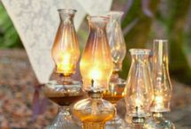 Vintage: Oil Lamps / by Carlene @ Organized Clutter