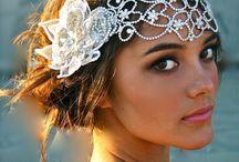 Wedding accessories...veils, hats, shoes, coats, jewelry, muffs....! / Wedding accessories / by Molly Shea