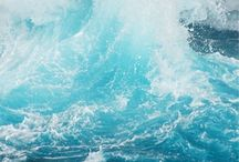 Mer et vagues
